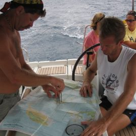 Caribbean Sailing Charters | Charting the day in the BVI