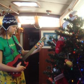 Caribbean Sailing Charters | Guitar Hero for a BVI Christmas