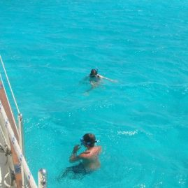 Caribbean Sailing Charters | Snorkeling in beautiful Caribbean waters