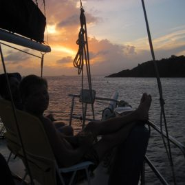 Caribbean Sailing Charters | Another perfect BVI sunset