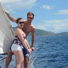 Caribbean Sailing Charters | Tortola BVI ahead