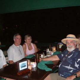 Caribbean Sailing Charters | Onshore dinner at Jost Van Dyke BVI