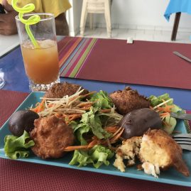 Caribbean Sailing Charters | Martinique lunch