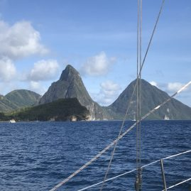 Caribbean Sailing Charters | Pitons of St. Lucia