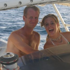 Caribbean Sailing Charters | Big smiles while sailing the BVI