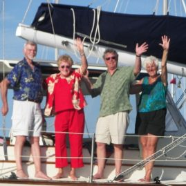 Caribbean Sailing Charters | Okay, everyone wave to Ray...
