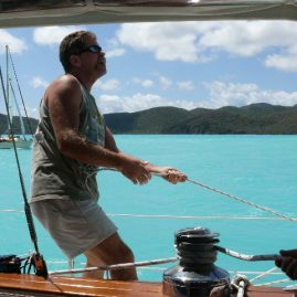 Caribbean Sailing Charters | Trimming sails