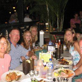 Caribbean Sailing Charters | Jost Van Dyke dinner at Foxy's