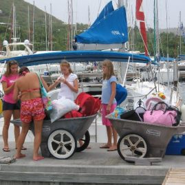 Caribbean Sailing Charters | Did we bring enough stuff? BVI Sailing