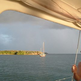 Caribbean Sailing Charters | Feeling relaxed in BVI