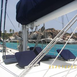 Caribbean Sailing Charters | Approaching the Baths of Virgin Gorda in British Virgin Islands