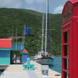 Caribbean Sailing Charters | Jalapeno at pier in BVI