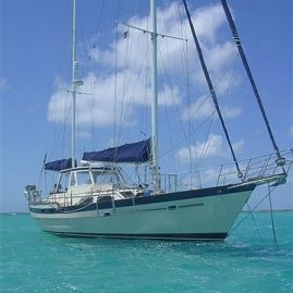 Caribbean Sailing Charters | At anchor in Saint Vincent & the Grenadines