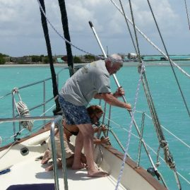 "Caribbean Sailing Charters | ""Il'll get the thingy"". Anegada"