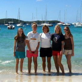 Caribbean Sailing Charters | Happy sailors in BVI