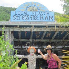 Caribbean Sailing Charters | Chiilling at Ivans - Jost Van Dyke BVI