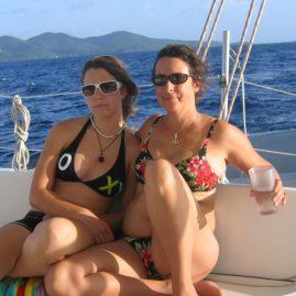 Caribbean Sailing Charters | Jennifer & Elaina