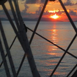 Caribbean Sailing Charters | Caribbean Sunset from Jalapeno