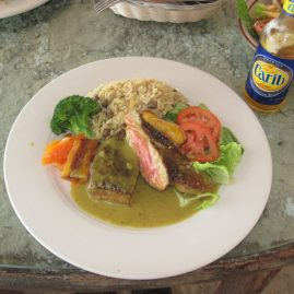 Caribbean Sailing Charters | Dinner & a Carib beer
